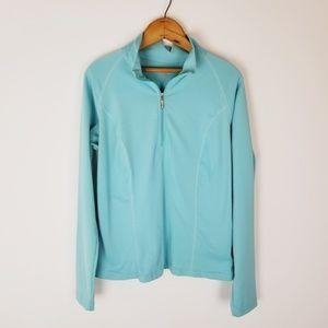 Marker Polartec half zip athletic jacket large